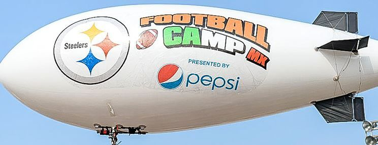 foto oficial football camp steelers